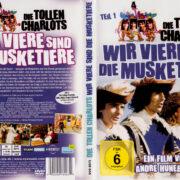 Wir viere sind die Musketiere (1974) R2 German Cover