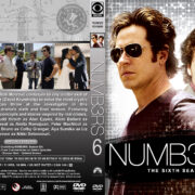 Numbers - Season 6 (2009) R1 Custom Cover & labels