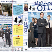 The Office - Season 4 (2007) R1 Custom Cover & labels