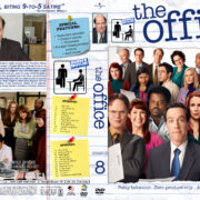 The Office – Season 8 (2011) R1 Custom Cover & labels