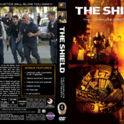 The Shield – Season 1 (2002) R1 Custom Cover & labels