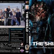 The Shield - Season 2 (2003) R1 Custom Cover & labels
