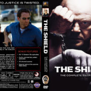The Shield - Season 6 (2007) R1 Custom Cover & labels