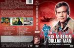 The Six Million Dollar Man – Season 1 (1974) R1 Custom Cover & labels