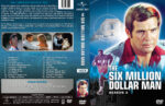 The Six Million Dollar Man – Season 2 (1974) R1 Custom Cover & labels