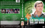 The Six Million Dollar Man – Season 3 (1975) R1 Custom Cover & labels