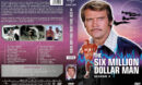 The Six Million Dollar Man - Season 4 (1976) R1 Custom Cover & labels