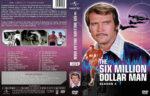 The Six Million Dollar Man – Season 4 (1976) R1 Custom Cover & labels