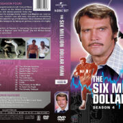 The Six Million Dollar Man – Season 4 (1976) R1 Custom Cover & labels