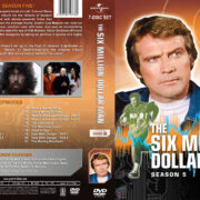 The Six Million Dollar Man – Season 5 (1977) R1 Custom Cover & labels