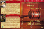 Undue Influence / The Judge Double Feature (1996-2001) R1 Custom Cover & labels