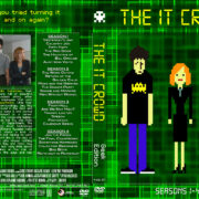 The IT Crowd – Seasons 1-4 (2006-2013) R1 Custom Cover & labels