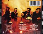 Metallica – Load (1996) Back CD Cover
