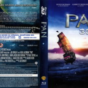 PAN 3D (2015) R2 German Blu-Ray Cover & Label