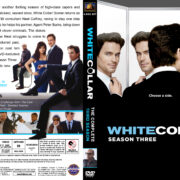 White Collar – Season 3 (2011) R1 Custom Cover & labels