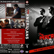 The Americans – Season 1 (2013) R1 Custom Cover & labels