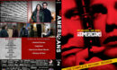 The Americans - Season 2 (2014) R1 Custom Cover & labels