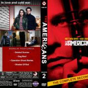 The Americans – Season 2 (2014) R1 Custom Cover & labels