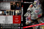 The Americans – Season 3 (2015) R1 Custom Covers & labels