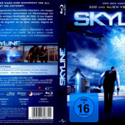 Skyline (2010) R2 German Blu-Ray Covers