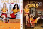 2 Broke Girls – Season 4 (2014) R2 German Cover
