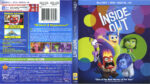 Inside Out (2015) R1 Blu-Ray Cover & labels