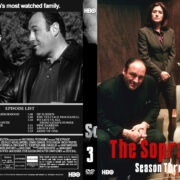 The Sopranos – Season 3 (2001) R1 Custom Cover & labels