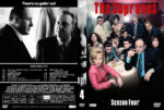 The Sopranos – Season 4 (2002) R1 Custom Cover & labels