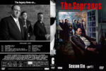 The Sopranos – Season 6, part 1 (2006) R1 Custom Cover & labels