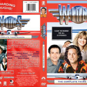 Wings – Season 3 (1991) R1 Custom Cover & labels