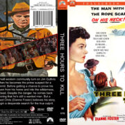 Three Hours To Kill (1954) R1 Custom DVD Cover