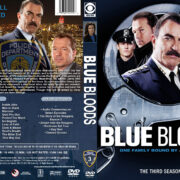 Blue Bloods – Season 3 (2012) R1 Custom Cover & labels