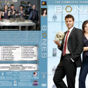Bones - Season 3 (2007) R1 Custom Cover & labels