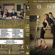 Bones - Season 4 (2008) R1 Custom Cover & labels