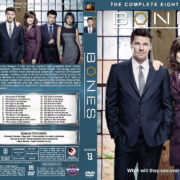 Bones - Season 8 (2012) R1 Custom Cover & labels
