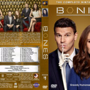 Bones – Season 9 (2013) R1 Custom Cover & labels