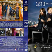 Castle – Season 3 (2010) R1 Custom Cover & labels