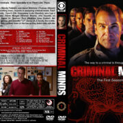 Criminal Minds – Season 1 (2005) R1 Custom Cover & labels