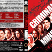 Criminal Minds – Season 4 (2008) R1 Custom Cover & labels
