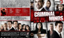 Criminal Minds - Season 5 (2009) R1 Custom Cover & labels