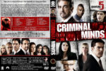 Criminal Minds – Season 5 (2009) R1 Custom Cover & labels