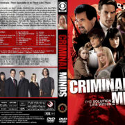 Criminal Minds – Season 6 (2010) R1 Custom Cover & labels