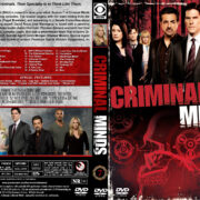 Criminal Minds – Season 7 (2011) R1 Custom Cover & Labels