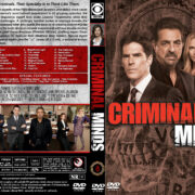 Criminal Minds – Season 8 (2012) R1 Custom Cover & labels