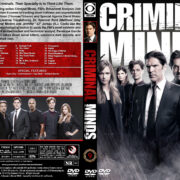 Criminal Minds – Season 9 (2013) R1 Custom Cover & labels