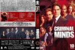 Criminal Minds – Season 10 (2014) R1 Custom Cover & labels