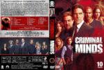 Criminal Minds – Season 10 (2014) R1 Custom Cover & labels