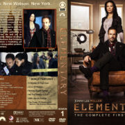 Elementary – Season 1 (2012) R1 Custom Cover & labels