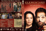 Elementary – Season 3 (2014) R1 Custom Cover & labels