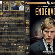 Endeavour – Series 2 (2014) R1 Custom Cover & labels
